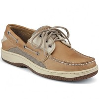 Men's Billfish 3-Eye Boat Shoe in Tan and Beige by Sperry Top-Sider