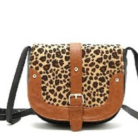 Womens Sexy Leopard Satchel/Purse/Shouder Bag