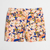 "Factory 5"" printed stretch chino short : 5"" 