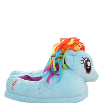 My Little Pony Rainbow Dash Slippers