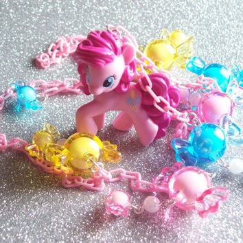 Super Fun Pinkie Pie Candy Charm Necklace