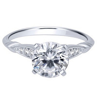 "Ben Garelick Royal Celebrations ""Sophia"" Diamond Engagement Ring"