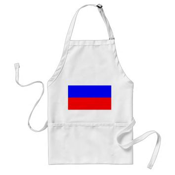 Apron with Flag of Russia