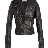 BALENCIAGA | Classic Leather Biker Jacket | Browns fashion & designer clothes & clothing