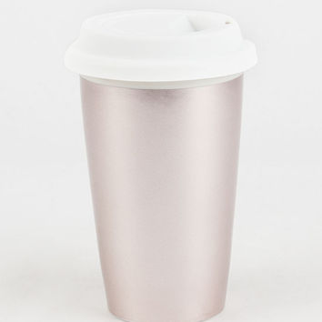 Rose Gold Coffee Tumbler | Kitchen