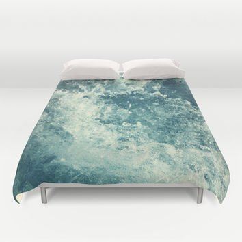 Water I Duvet Cover by Dr. Lukas Brezak | Society6