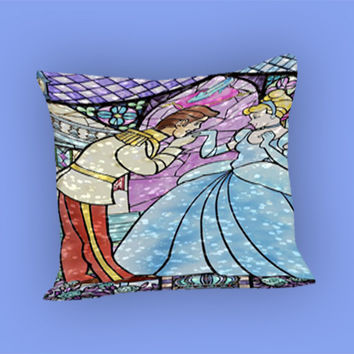Cinderella for Pillow Case, Pillow Cover, Custom Pillow Case **
