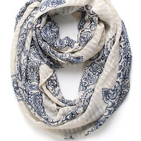 With Love From CA Paisley Print Infinity Scarf at PacSun.com