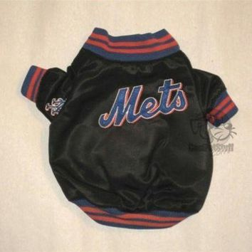 auguau New York Mets Dugout Dog Jacket