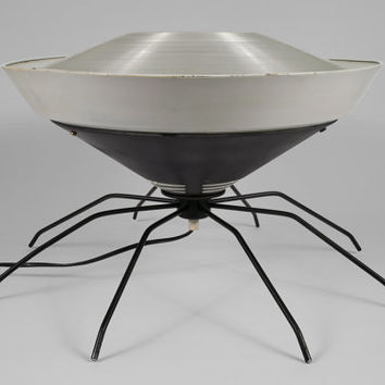 Large Halloween Spider Lamp
