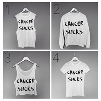 Cancer Sucks Apparel