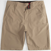 O'neill Loaded Mens Hybrid Shorts - Boardshorts And Walkshorts In One Khaki  In Sizes