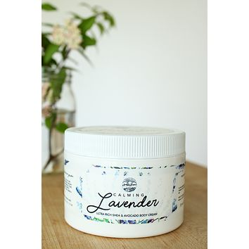 Lavender - Shea & Avocado Body Cream