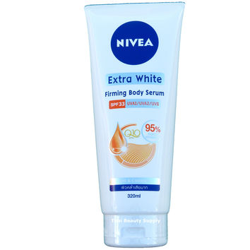 Nivea Extra White Firming Body Serum SPF 33 Q10 Collagen Skin Whitening