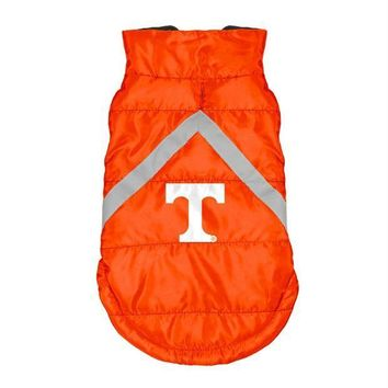 ESBONI Tennessee Volunteers Pet Puffer Vest