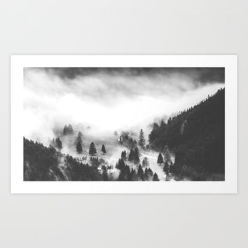 Ghostly Art Print by Mixed Imagery