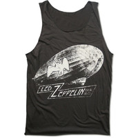 Led Zeppelin Lead Balloon Handprint Tank Top 70s Hard Rock band logo with symbols Shirt Size M