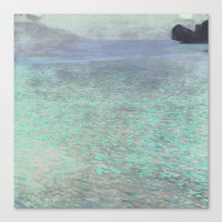 Klimt at Attersee Canvas Print by Anipani