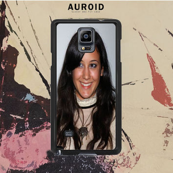 Vanessa Carlton Stylish Samsung Galaxy Note 4 Case Auroid