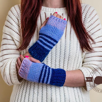 Fingerless Gloves, Knitted Mittens, Christmas Gift For Coworker, Winter Knitted Gloves for Women, Arm Warmers, Soft Arm Warmers For Women