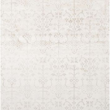 Shibori Arts and Crafts Area Rug Neutral