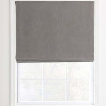 Flat Custom Roman Shades For Your Home / Office
