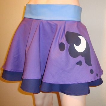 Custom Princess Luna My Little Pony Skirt
