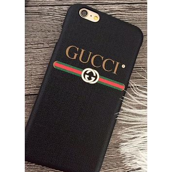 Gucci Black White phone case shell  for iphone 6/6s,iphone 6p/6splus,iphone 7/8,iphone 7p/8plus, iphonex