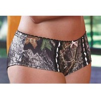 Wilderness Dreams Women's Camo Hipster - Pink Bow - Mossy Oak - 602731