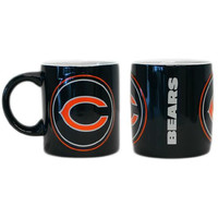 Chicago Bears NFL Coffee Mug - 14oz Sculpted Warm Up (Single Mug)