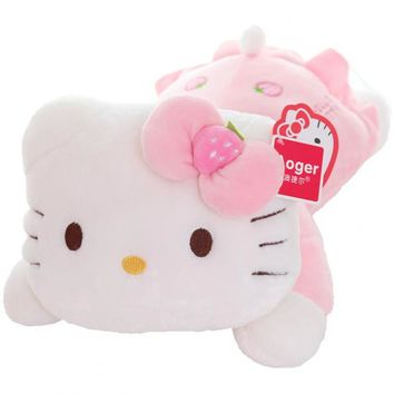 Hello Kitty Cat Plush Toy Lovely Stuffed Animal Doll