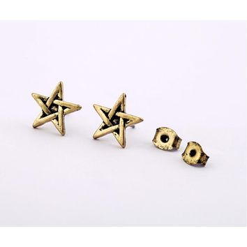 MILA - Smoky Star Studs