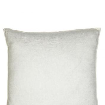 Vice Versa Metallized Linen Pillow | Calypso St. Barth