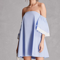 Billowy Off-the-Shoulder Dress