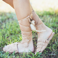 FESTIVAL: Southwest Sandals in Brown