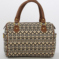 The Tribal Duffle Bag in Taupe