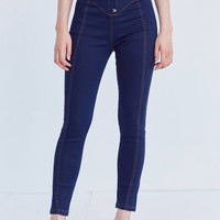 BDG Corset Skinny Jean – Raven | Urban Outfitters