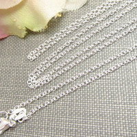Sterling Silver Chain, 925 Sterling Silver Chain Necklace. Available in 16 and 18 Inches