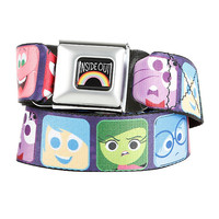 Disney Inside Out Block Characters Seat Belt Belt