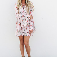 Blushing In Floral Dress