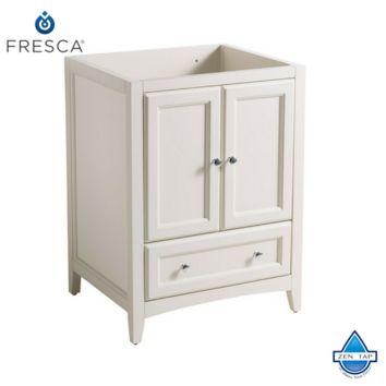 "Fresca Oxford 24"" Traditional Bathroom Cabinet"