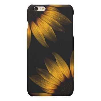 Backyard Flowers 28 Sunflower Matte iPhone 6 Plus Case