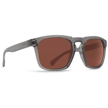 VonZipper Banner Sunglasses Charcoal with Rose Lens