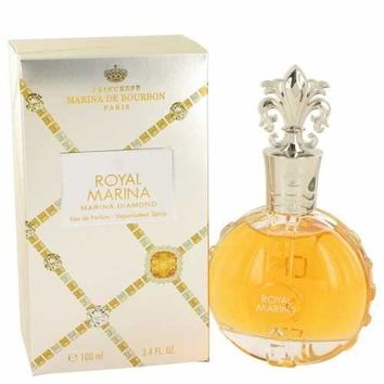 Royal Marina Diamond by Marina De Bourbon Eau De Parfum Spray 3.4 oz (Women)