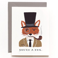 Rifle Paper Co. - You're a Fox Card