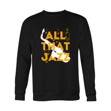 Jazz Hoodie, long sleeve shirt - All That Jazz - custom made music apparel