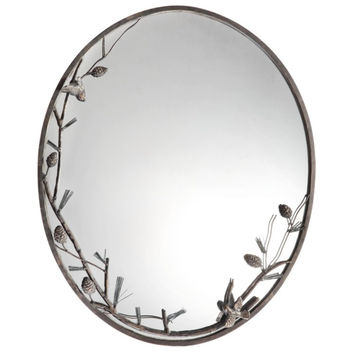 SPI Home Pinecone and Branch Wall Mirror & Reviews | Wayfair