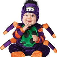 InCharacter Costumes Baby's Itsy Bitsy Spider Costume, Purple/Green/Orange/Black, Large
