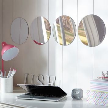Acrylic Mirror Set, Circles