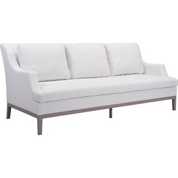 Ojai Outdoor Sofa, Champagne White